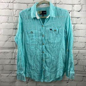 Hurley ex-boyfriend Wilson button up soft shirt